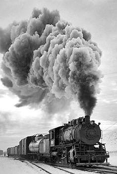 old train pictures black and white