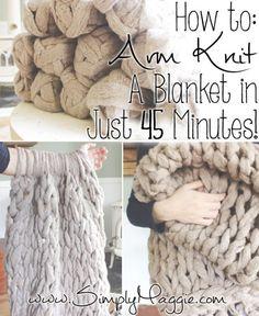 Arm-Knit-a-Blanket