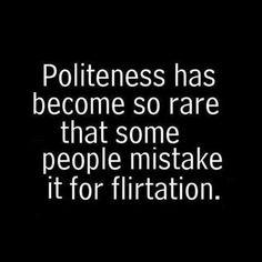 Politeness and Flirtation