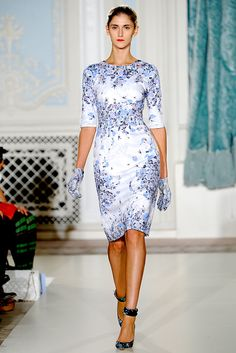 Erdem | Spring 2012 Ready-to-Wear Collection | Style.com || LOVE this pattern <3