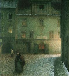 Schikaneder 1906 StreetAtSunset   Jakub Schikaneder (1855-19…   Flickr