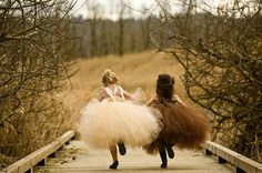 tutu's make friends...