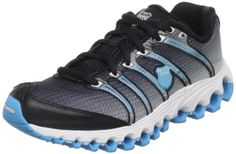 I bought these shoes and I absolutely love them! But, they look cooler with the blue laces...