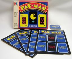 PAC-MAN Card Game  - i played this so much when I was a. Kid