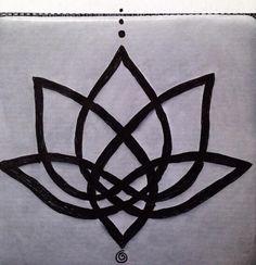 celtic lotus tattoo drawing | Celtic Lotus Tattoo