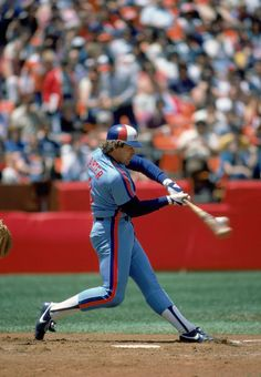 Gary Carter Hot Baseball Players, Major League Baseball Teams, Mlb Players, Mlb Teams, Mlb Uniforms, Baseball Uniforms, Baseball Pants, Expos Baseball, Sports Baseball