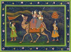 Rajasthani paintings - IndusLadies
