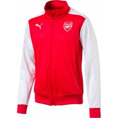 47356c514 Stay warm and comfortable while watching the match in style in the PUMA® Men s  Arsenal