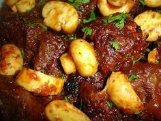 Blog da Suzy: Carne de Panela Chic (Fácil) Mais Beef Recipes, Cooking Recipes, Healthy Recipes, Brazilian Dishes, Food Porn, Good Food, Yummy Food, Portuguese Recipes, Food Hacks