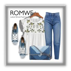 """ROMWE"" by ratko1959 ❤ liked on Polyvore featuring Yves Saint Laurent, Diesel and STELLA McCARTNEY"