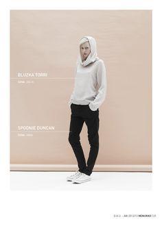 TORRI blouse DUNCAN trousers D.A.U. collection   http://nenukko.com/shop/