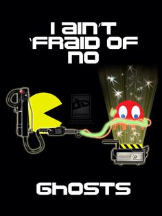 Pac-Man/Ghostbusters
