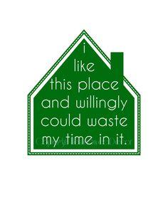 Home / Shakespeare Quote / 5x7 Typography Art Print.