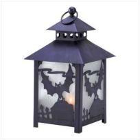 Spooky Bat Tealight Lantern - FREE SHIPPING $21.00