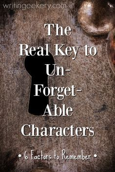 Really How to write unforgettable charactersHow to write unforgettable charactersUnforgettable. Really How to write unforgettable charactersHow to write unforgettable characters Creative Writing Tips, Book Writing Tips, Writing Quotes, Fiction Writing, Writing Process, Writing Resources, Writing Help, Writing Skills, Academic Writing