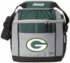 NFL Green Bay Packers 24 Can Soft Sided Carry Coleman Cooler $29.34