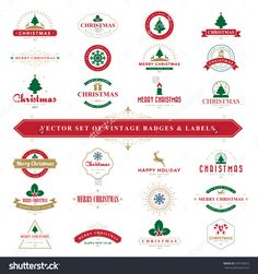 Merry Christmas And Happy New Year Typographic Background,Vector Eps10 - 479738872 : Shutterstock