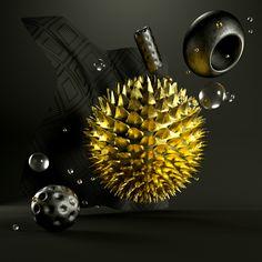 Golden Glass Series on Behance