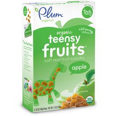 Check out Plum Organics Teensy Fruits Apple