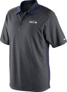 Nike Nfl Seatlle Seahawks Blue Onfield Polo Xl Regular Tea Drinking Improves Your Health Sports Mem, Cards & Fan Shop