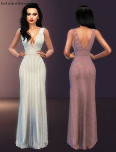"belaloallure3: "" Elle dress • new mesh • all lod • 10 swatches • custom thumbnail • please do not re upload or claim as yours . download from my blog enjoy :) """