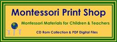 Printable Montessori Materials @ montessoriprintshop.com