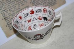 Your place to buy and sell all things handmade Fortune Favours, Cup Crafts, Fortune Telling, Burlesque, Kitsch, I Shop, Tea Cups, Mugs, Antiques