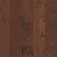 Bruce�Locking Distressed 5-in W Prefinished Oak Locking Hardwood Flooring (Dakota Cherry) | Flooring option three