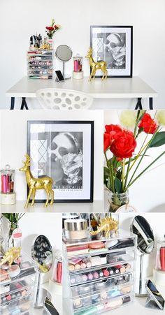 makeup desk love it GORGEOUS!!