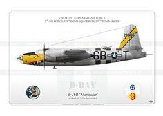 """B-26B """"Marauder"""" 6B-T IK-111"""