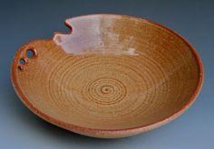 Carved and Pierced Bowl by LeeDanielsClayWorks on Etsy, $80.00
