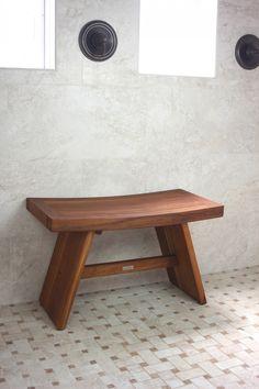 "Aqua Teak - 320 Asia Teak Shower Bench 30"", $184.95 (http://www.aquateak.com/bath/shower/stool/bench/seat/asia/japanese/double)"