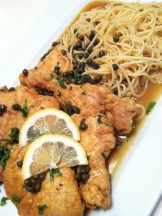 Giada de Laurentiis' recipe for Lemon Chicken Piccata.