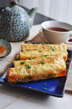 Shawarma Filo Rolls   Savory and Sweet Food