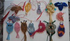 Adriana Hobby: Mărţişoare lucrate macrame - Dantelele lucrate d. Dream Catcher, Macrame, Manual, Beads, Blog, Decor, O Beads, Dekoration, Beading