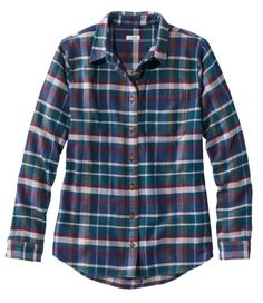 Bean Organic Flannel Tunic, Plaid at L. Our high quality Women's Shirts and Tops are thoughtfully designed and built to last season after season. Donna Pinciotti, Flannel Tunic, Big Dresses, Madewell Denim, Ll Bean, Organic Cotton, Plaid, My Style, Shirts