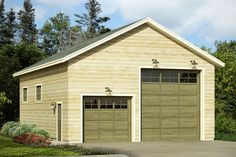 New Garage Plan 20 093   From Associated Designs