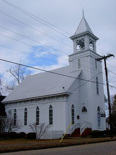 First Presbyterian Church ~ Camden, Alabama
