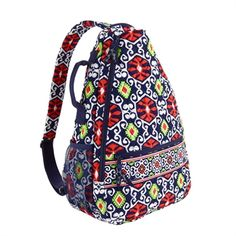 Vera Bradley Tutti Frutti Sling Tennis Backpack | Tennis bag ...