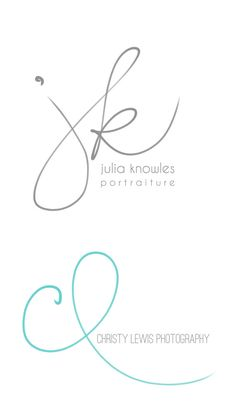 Handwritten Initials Custom Logo photoshop brush by PixelPolish, $49.50