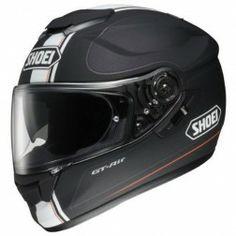 Shoei Black Red Helmets