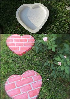 How to Easily Enchant Any Room with These Magical DIY Fairy Lanterns Stepping Stone Pathway, Stone Walkway, Backyard Sitting Areas, Wooden Garden Planters, Concrete Crafts, Patio Umbrellas, Garden Stones, Garden Paths, Backyard Projects
