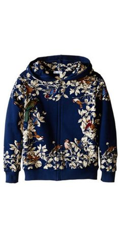 Ready to fly solo?  Before he leaves the nest, surround your boy with the creature comforts of this #DolceandGabbana #Kids Printed #Jacket. #hoodie #boy #childrenswear #child #apparel #clothing