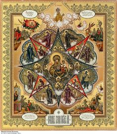 Religious Icons, Religious Art, Photography Illustration, Art Photography, Queen Of Heaven, Orthodox Christianity, Orthodox Icons, Deities, Ikon