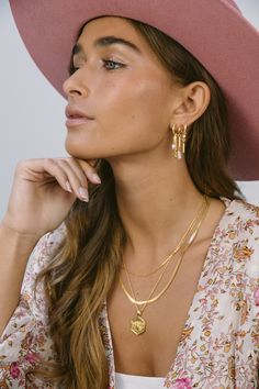 Gold Plated Earrings, Gold Hoop Earrings, Diamond Earrings, Drop Earrings, Cute Jewelry, Jewelry Accessories, Mix Match, Accesorios Casual, Gold Studs
