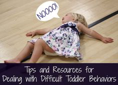 Toddler Approved!: Tips and Resources for Dealing with Difficult Toddler Behaviors. These are a few of my favorite articles about dealing with challenging toddler behavior. What other resources do you find helpful?