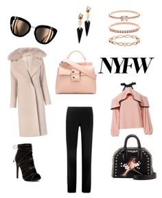 Untitled #6 by saturn43210 on Polyvore featuring polyvore fashion style Alexis Diane Von Furstenberg Narciso Rodriguez STELLA McCARTNEY Roger Vivier Accessorize Alexis Bittar clothing