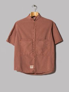 Tender Type 432 Short Sleeve Butterfly Shirt (Tan Wattle Calico)