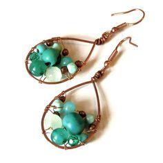 Earring 15$ Jewelanes by Fanni Szalai www.facebook.com/jewelanes