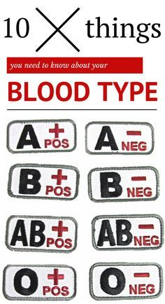 10 Things You Need To Know About Your Blood Type